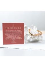 Lenny & Eva 6mm Gemstone Bracelet Druzy