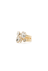 Sorrelli Double Up Stackable Ring Set