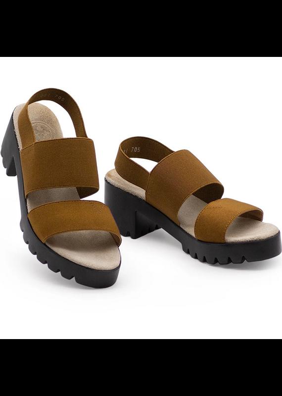 Charleston Shoe Co Sully Sandal Tabacco