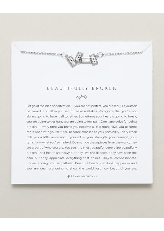 Bryan Anthonys Beautifully Broken Necklace in Silver