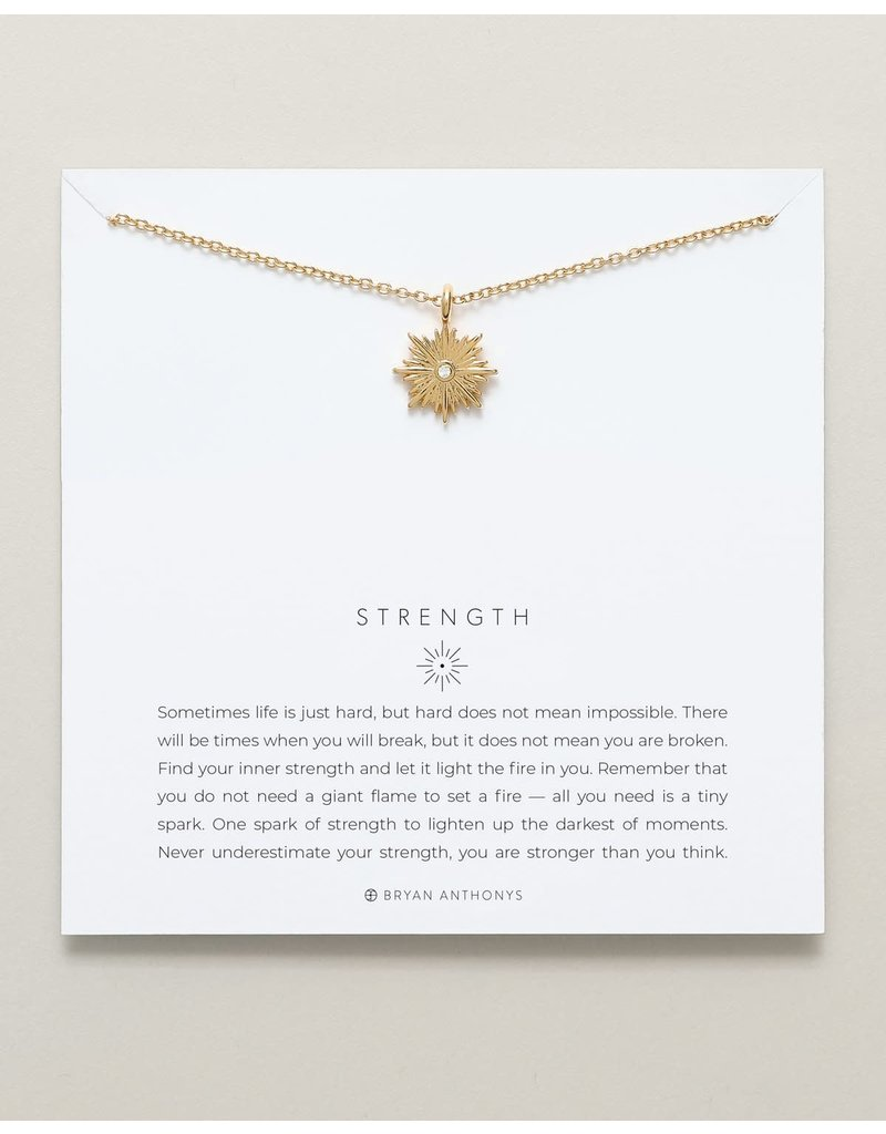 Bryan Anthonys Strength Necklace in Gold