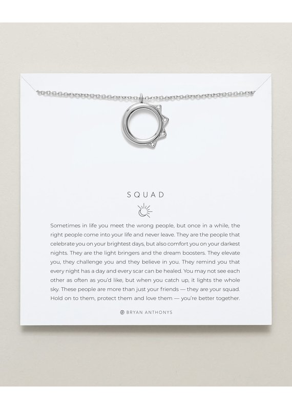 Bryan Anthonys Squad Necklace in Silver