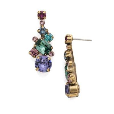 Sorrelli Sorrelli Gold Jewel Tone Earrings