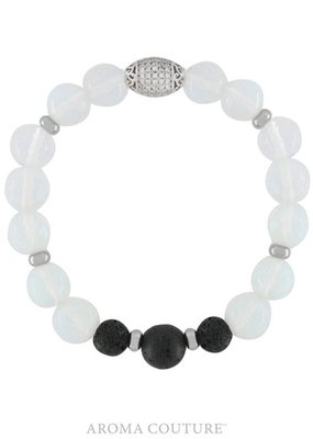 Aroma Couture Opalite Lava Rock Diffuser Bracelet