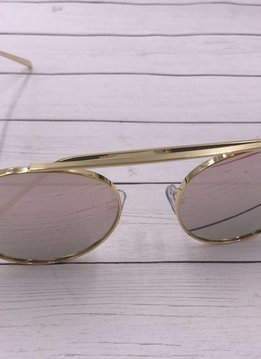 NYS Trendy Round Lens Sunglasses