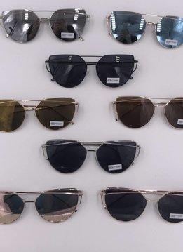NYS Cateye Metal Frame Sunglasses