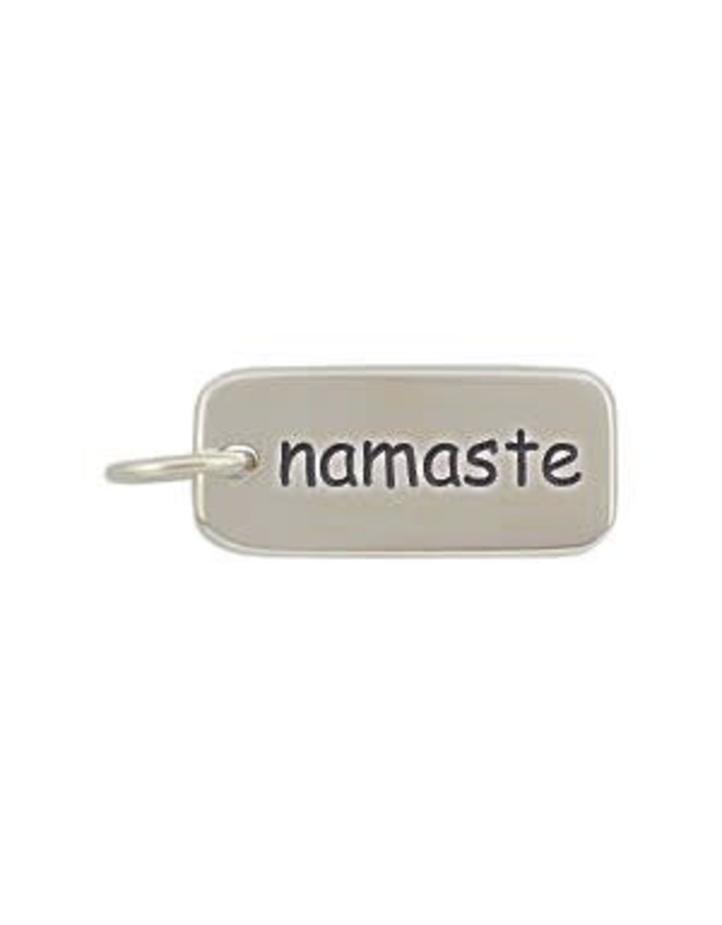 Sterling Silver Namaste Charm