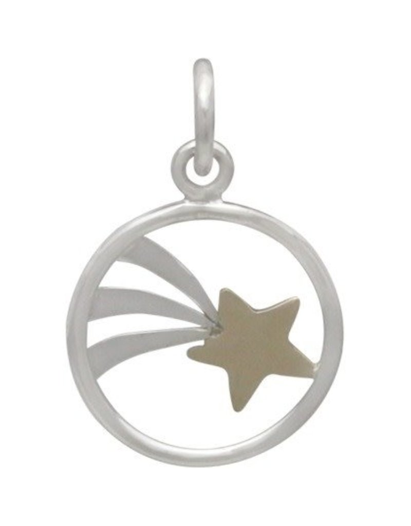 Sterling Silver Shooting Star Charm