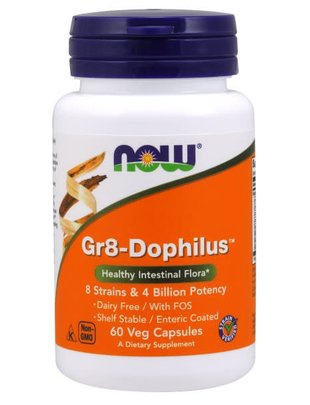 NOW FOODS GR 8 DOPHILUS - ENTERIC    60 VCAPS