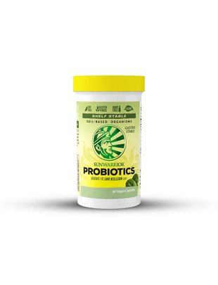 SUNWARRIOR PROBIOTICS 100 BILLION