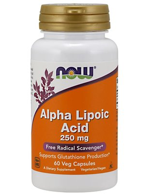 NOW FOODS ALPHA LIPOIC ACID 250mg  60 VC