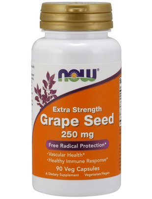 NOW FOODS GRAPE SEED EXTRACT 250MG 90 VC