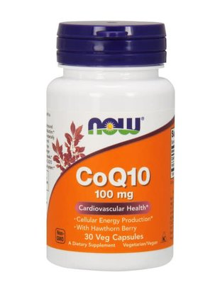NOW FOODS CoQ10 100mg 30 VC