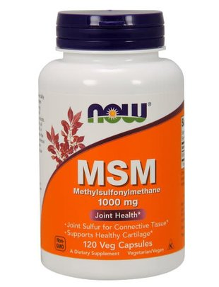 NOW FOODS MSM 1000mg 120 VCAPS