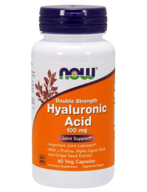 NOW FOODS HYALURONIC ACID 100mg 60cp