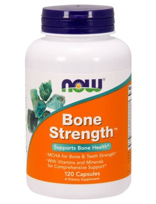 NOW FOODS BONE STRENGTH CAPS 120 CP