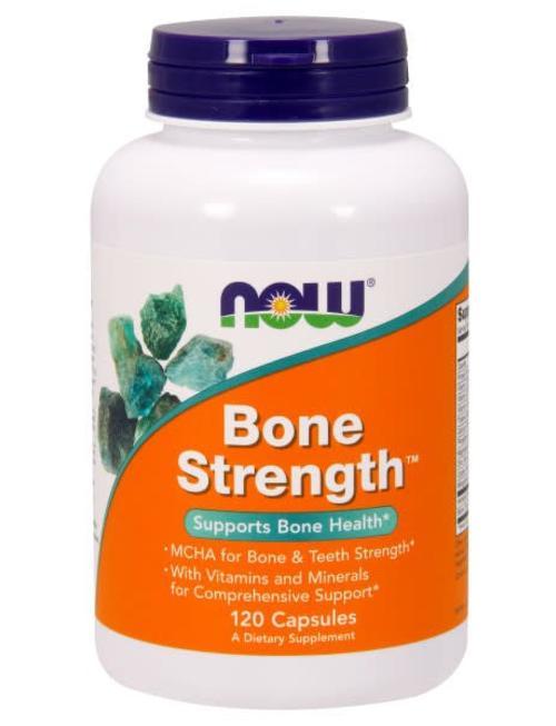 NOW FOODS BONE STRENGTH CAPS 120 CP