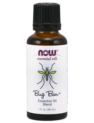 NOW FOODS BUG BAN ESSENTIAL OIL BLEND 1 OZ