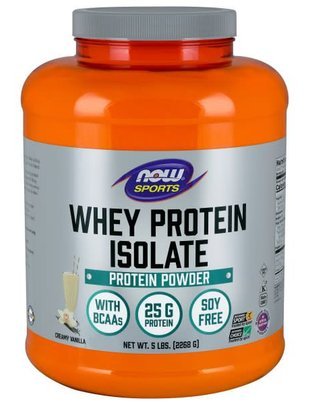 NOW FOODS WHEY PROTEIN ISOLATE 5LBS