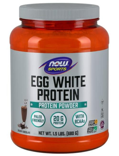 NOW FOODS EGG WHITE PROTEIN
