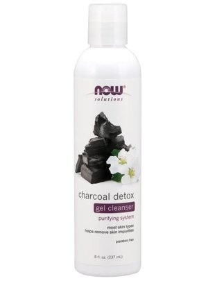 NOW FOODS CHARCOAL DETOX GEL CLEANSER