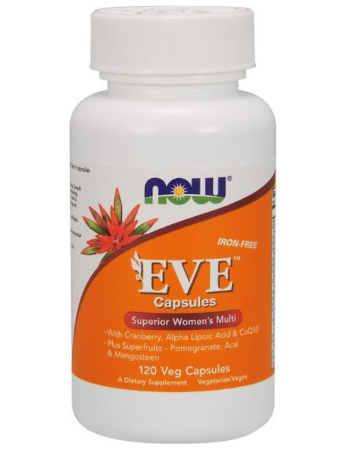 NOW FOODS EVE WOMAN'S MULTI   120 VCAPS