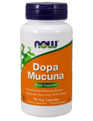 NOW FOODS DOPA MUCUNA 90vcaps