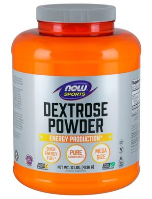 NOW FOODS DEXTROSE POWDER (SPORTS) 10 LB
