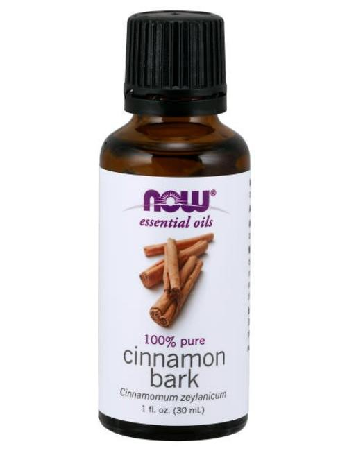 NOW FOODS CINNAMON BARK OIL 1 OZ