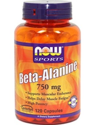 NOW FOODS BETA ALANINE  750mg  120 CAPS