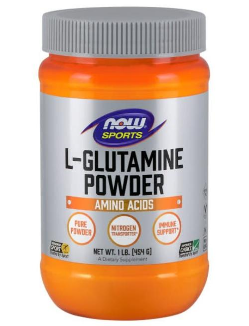 NOW FOODS L-GLUTAMINE POWDER  1 LB