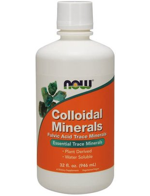 NOW FOODS COLLOIDAL MINERALS ORIGINAL  32 OZ