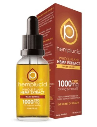 HEMPLUCID HEMPLUCID WATER SOLUBLE 1000 MG CBD