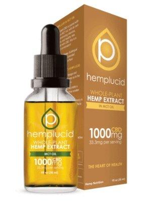 HEMPLUCID HEMPLUCID MCT OIL 1000 MG CBD