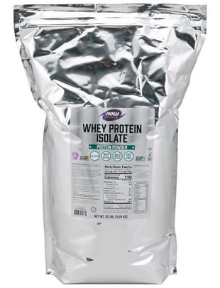 NOW SPORTS WHEY PROTEIN ISOLATE PURE 10 LB