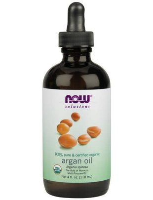 NOW SOLUTIONS ARGAN OIL ORGANIC 4 OZ