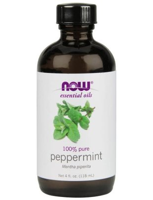 NOW SOLUTIONS PEPPERMINT OIL 4 OZ