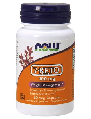 NOW FOODS 7-KETO 100MG 60 VCAPS