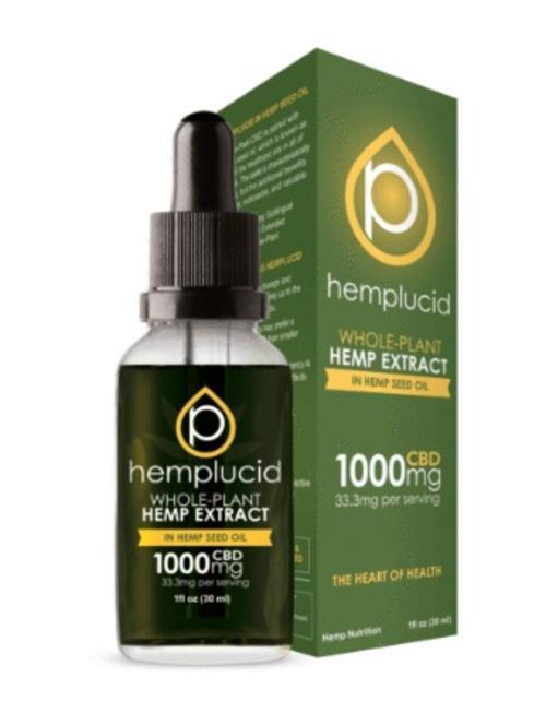 HEMPLUCID HEMPLUCID HEMP SEED OIL 1000MG