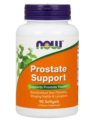NOW FOODS PROSTATE SUPPORT 90 SGEL