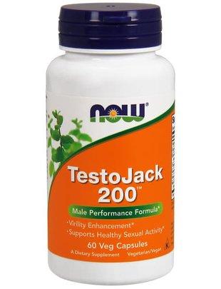 NOW FOODS TESTO JACK 200 EXTRASTR 60 VCAPS