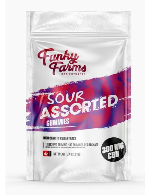 FUNKY FARMS HIGH CLARITY CBD 300MG GUMMIES