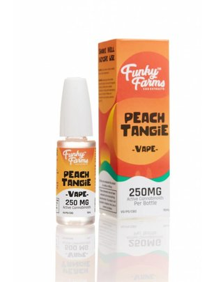 FUNKY FARMS PEACH TANGIE E-LIQUID 250MG