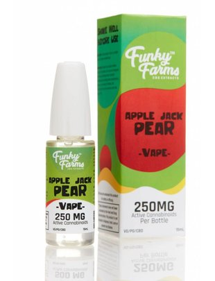 FUNKY FARMS APPLE JACK PEAR E-LIQUID 250MG