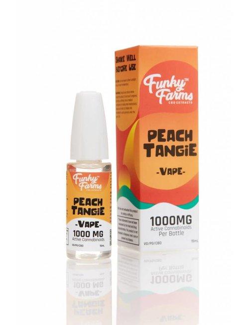 FUNKY FARMS PEACH TANGIE E-LIQUID 1000MG