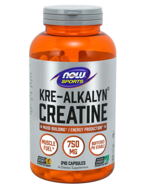 NOW FOODS Kre-ALKALYN(R) CREATINE 750 mg 240 CAPS