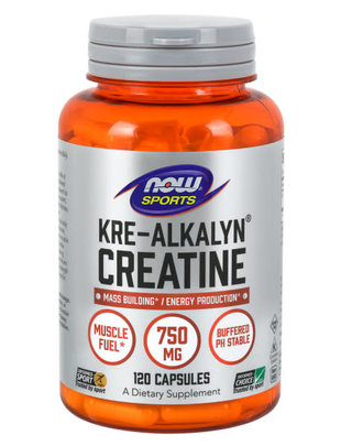 NOW FOODS KRE-ALKALYN(R) CREATINE 750 mg 120 CAPS