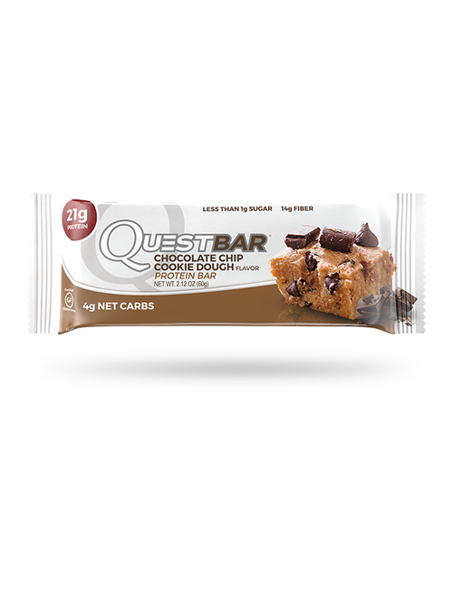 QUEST NUTRITION QUEST CHOCOLATE CHIP COOKIE DOUGH SINGLE