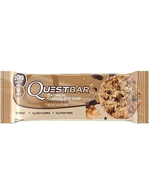 QUEST NUTRITION QUEST OATMEAL CHOCOLATE CHIP SINGLE