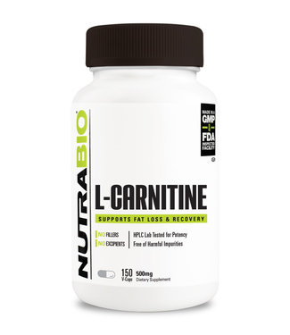 NUTRABIO L-CARNITINE 150 V-CAPS